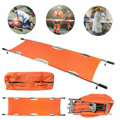 Aluminum Alloy Folding Stretcher Bed for Outdoor Lifesaving First Aid Emergency