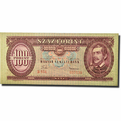 [#566281] Banknote, Hungary, 100 Forint, 1957, 1957-05-23, KM:171a, UNC(64)