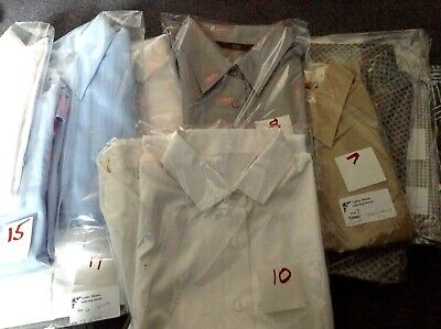 Ladies, tops, blouses, shirts ideal workwear etc  Cotton and mixed fibres