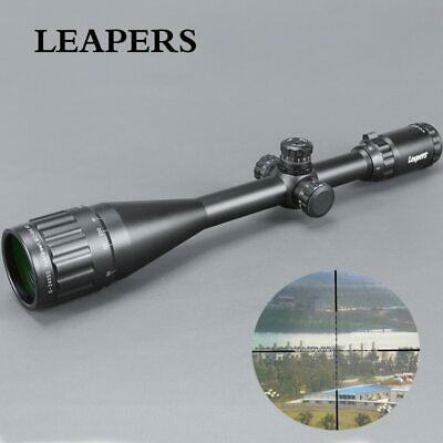 LEAPERS 6-24X50 Riflescope Tactical Optical Rifle Scope Red Green Blue Dot Sight