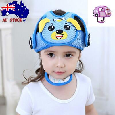 AU! Baby Safety Helmet Kids Head Protection Hat Cap For Walking Crawling Toddler