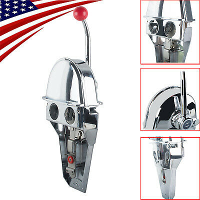 Top Mount Marine Jet Boat Dual Twin Lever Handle Engine Throttle Control