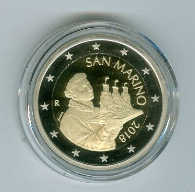 San Marino Currency Coin 2018 Pf only 2.600 Piece