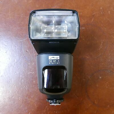 Used Metz Mecablitz 52 AF-1 in Canon fit - 1 YEAR GTEE