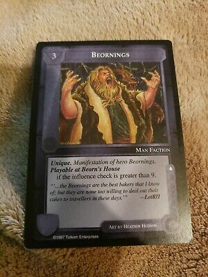 MECCG CCG Middle-earth Beornings The Lidless Eye LE MINT