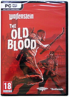 NEW SEALED WOLFENSTEIN: The New Order and The Old Blood Two-Pack