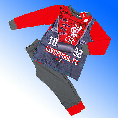Boys Official Liverpool FC Pyjamas #LFC  Age 3-12 Years