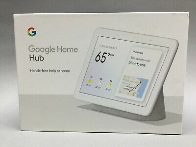 Google Home Hub With Google Assistant Hands Free Help At Home- Chalk