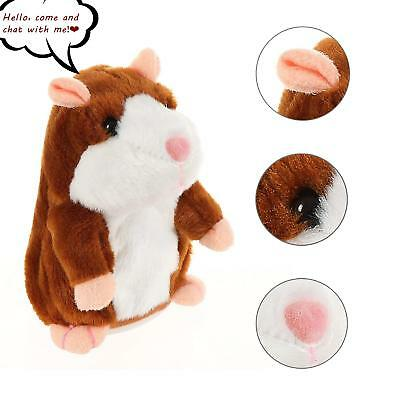 Cute Talking Cheeky Walking Nodding Sound Record Electric Plush Toy Gifts HOT