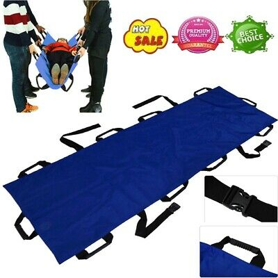 Foldable Soft 10 Handles Stretcher Oxford Cloth Household Patient Transport Tool