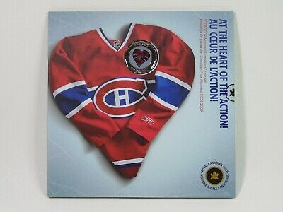 2009 Montreal Canadiens Colorized Jersey Dollar 7-Coin RCM Sealed NHL Set 2008