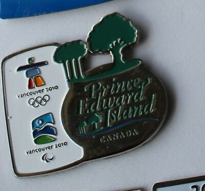 Prince Edward Island AUTHENTIC Vancouver 2010 Winter Olympic PIN