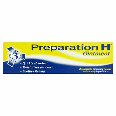 Preparation H Ointment  Haemorrhoids Rapid Relief 25g | UK PHARMACY STOCK