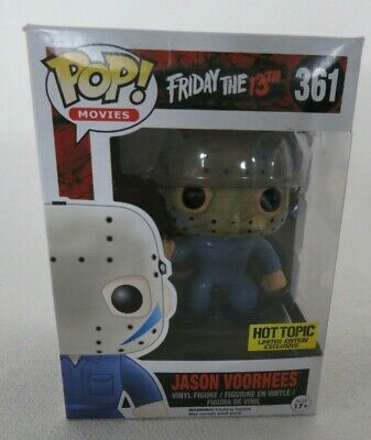 Funko Pop Movies Jason Voorhees 361 Hot Topic Limited Edition Exclusive