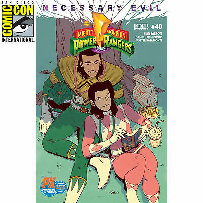 Mighty Morphin Power Rangers #40 SDCC 2019 Comic Con Variant Cover LE 3000