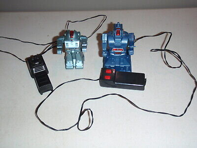 Robot Toy Wired Controller Vintage 1984 SOMA Lights RARE VHTF 2 ROBOTS