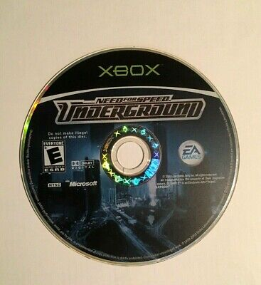 Need For Speed Underground XBOX Microsoft Video Games 2003 Cars Race Truck