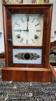 Rosewood Waterbury Cottage Mantle Clock