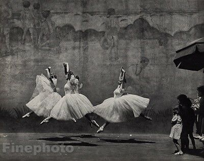 1938/72 Vintage Ballet New York Ballerina's Costume Photo By Andre Kertesz 11x14