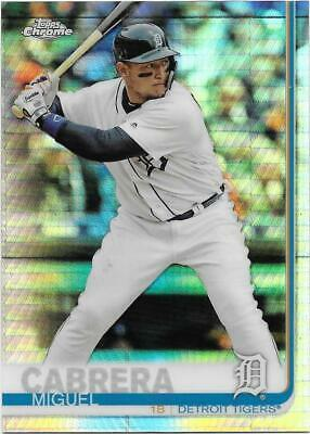 2019 Topps Chrome - Prism refractor - You Pick - $0.25 SH, max $2.50