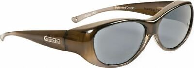 Jonathan Paul® Fitovers Eyewear Medium Kiata in Olive-Charcoal & Gray KA003