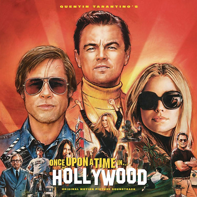 Once Upon A Time In Hollywood Quentin Tarantino SOUNDTRACK CD ALBUM NEW 2019