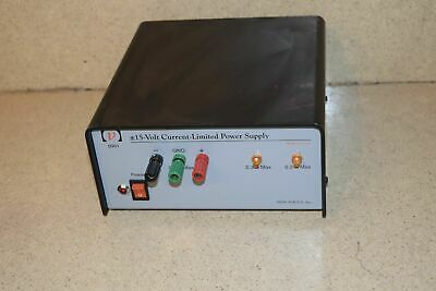 ++ New Focus 0901 15 Volt Current-Limited Power Supply (Dd)