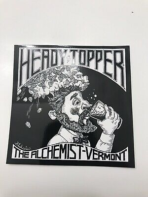 Heady Topper Sticker - Alchemist 4x4 Stowe, VT, Beer, Double IPA
