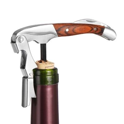 Professional Double Hinged Waiters Corkscrew Wine Bottle Opener All-in-one KPQ2