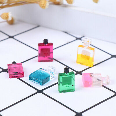 6 Bottles 1:12 Scale Dollhouse Miniature Furniture Perfume Decoration  Toy CP