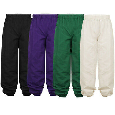 Unisex Boy Girl Ripstop Pants Elastic Waistband Trousers Outdoors Loose Casual