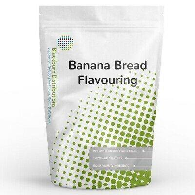 500g BANANA BREAD FLAVOURING POWDER - UK STOCKED - FREE SHIPPING