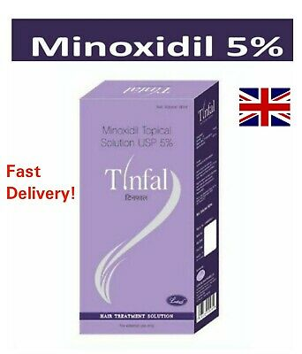 Minoxidil 5% Solution Spray Hair Loss Extra Strength -1 Month Supply Expiry 2021