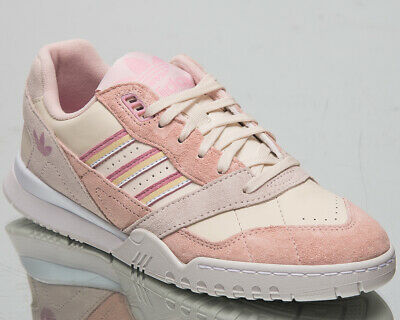 ADIDAS ORIGINALS A.R. Trainer Womens Chalk White Pink Casual