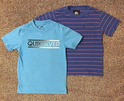 Quicksilver& Baby Gap ~Lot Of Boys Size 5 Short Sleeve T-Shirts~ All Tees In EUC