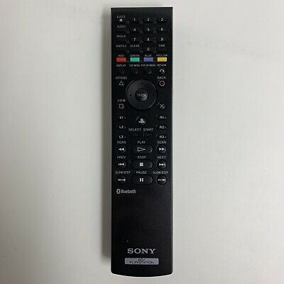 Sony BD / Playstation 3 Bluetooth Wireless Remote Control Genuine OEM CECHZR1U