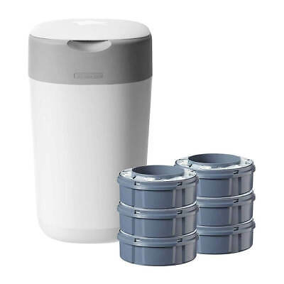 Tommee Tippee Twist & Click Sangenic Tec Nappy Disposal System - Starter Kit