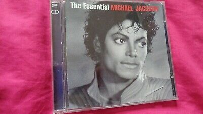 Michael Jackson The Essential 2 Disc  Epic Ex