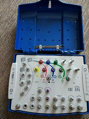 MIS Seven Surgical Kit, Internal Hex, Dental Implants, Made in Germany