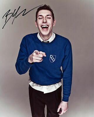 """JAMES BUCKLEY THE INBETWEENERS JAY CARTWRIGHT Signed Autograph PRINT 6x4/"""" Gift"""