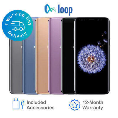 Samsung Galaxy S9 G960F 64GB 256GB - Network Unlocked *All Colours Available*