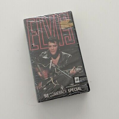 Elvis 68 Come Back Tour - Rare BETAMAX Beta Tape for collector NEW VGC