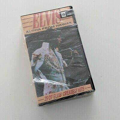 Elvis Alhoa from Hawaii - Rare BETAMAX Beta Tape for collector NEW VGC