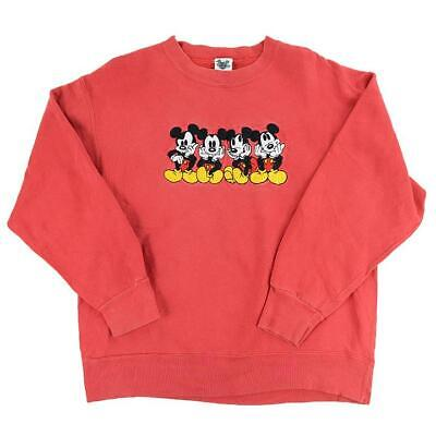 Vintage 90s Mickey Mouse Embroidered Crewneck - M