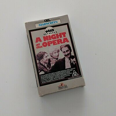 A Night at the Opera - Rare BETAMAX Beta Video Movie Tape Suit Collectors
