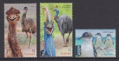 Australia 2019 Flightless Birds Mint unhinged set 3 sheet stamps.