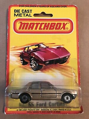 RARE MATCHBOX SUPERFAST No 55 FORD CORTINA IN USA BLISTER PACK (ENGLAND 1979)