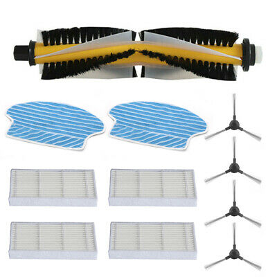 New Filters+ Side Brushes+Roller Brush For Proscenic 780T 790T Accessories
