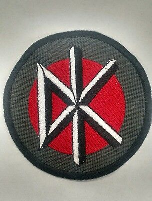 EMBROIDERED PATCH BRAND NEW MUSIC BAND 4098 DEAD KENNEDYS ICON LOGO