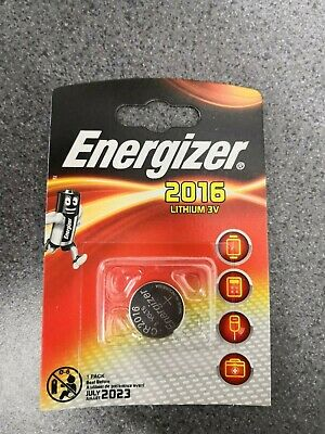 NEW Energizer CR2016 3V Lithium Coin Battery CR2016 DL2016